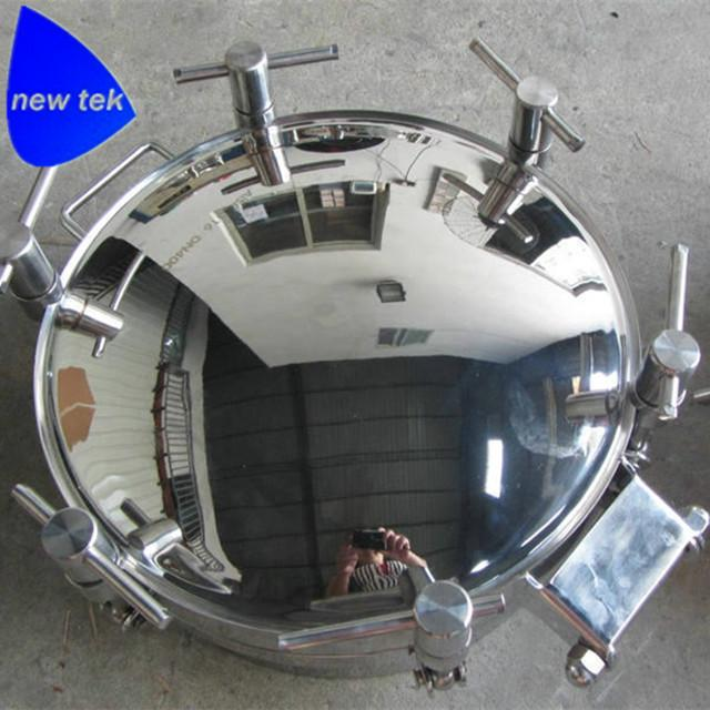 Sanitary Round Pressure Tank Manhole Cover-Stainless Steel 6