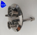 Sanitary Stainless Steel Tri-Clamp Extractor Parts Spools 2