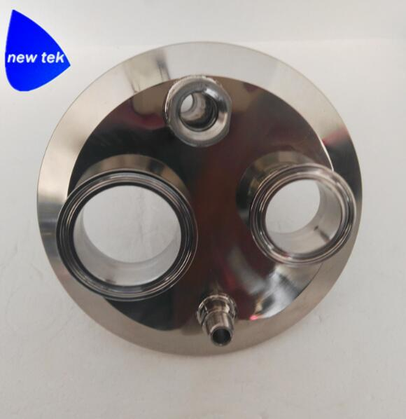 Sanitary Stainless Steel Tri-Clamp Extractor Parts Spools 7
