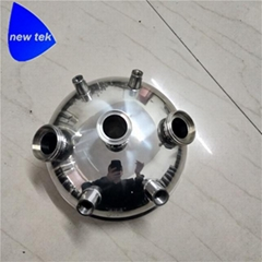 Tri Clamp Extractor Round Tank Lid