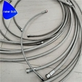 Stainless Steel High Pressure PTFE Braided Hose Flare Adapter 2