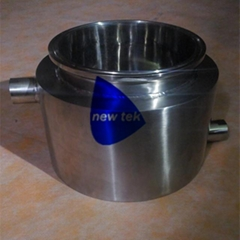 Sanitary Stainless Steel Tri Clamp Jacketed Bowl Shatter Platter