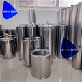 Stainless Steel Tri-Clamp Welded Bottom