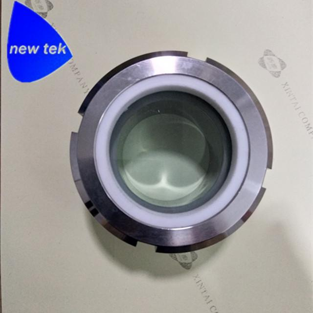 Tri Clamp PTFE Processing View Sight Glass - China