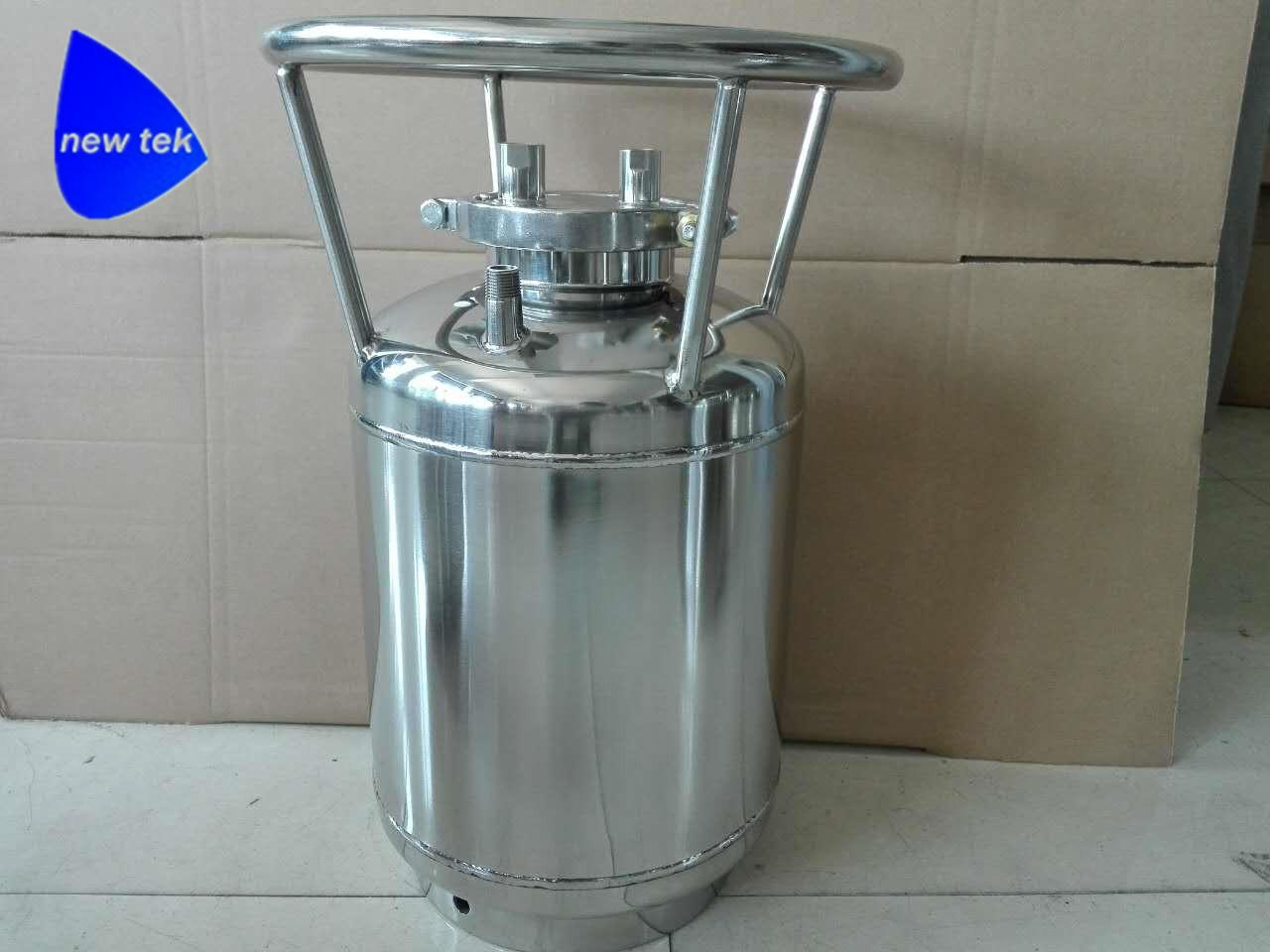 Stainless Steel Solvent Recovery Tank w/Dip Tube and Glass Window 3