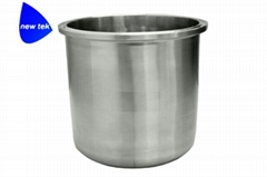 Sanitary Tri Clamp Round Bottom Tank