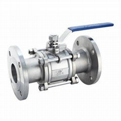 CF8M Bolted Ball Valve