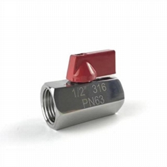 stainless mini ball valve