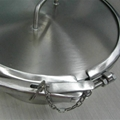Stainless Steel SS304 Clamp Brew Kettle Tank Manhole Round Manway 5