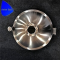 Sanitary Stainless Steel Round Tank Manhole Cover w/ Flange Sight Glass