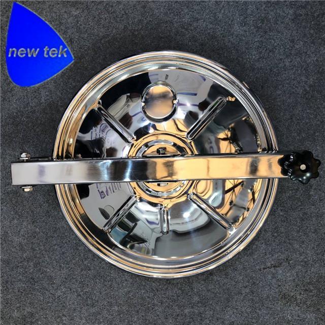 NEW TYPE Sanitary Stainless Steel Top Mounted Round Tank Manholes 1