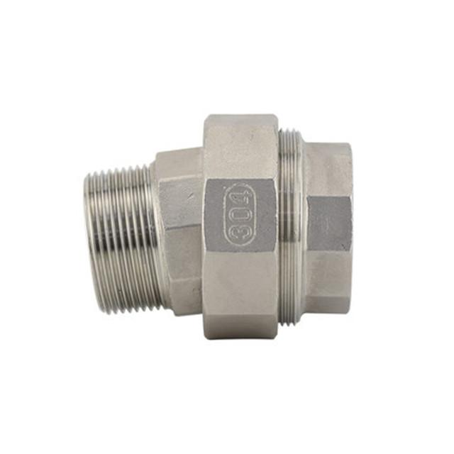 Stainless Steel Cone Union Conical Male/Female Stainless Steel Pipe Fitting 1