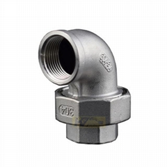 Elbow Union Cone Seat 150LB Stainless Steel Threaded Pipe Fitting
