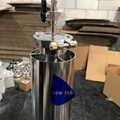 5lb Stainless Steel Jacketed Closed Loop Hydrocarbon Extractor Kit 5