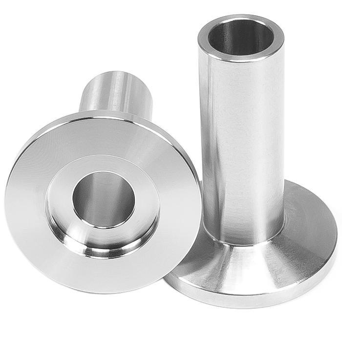 Short and Long Weld Stub ISO KF Vacuum Fittings 1