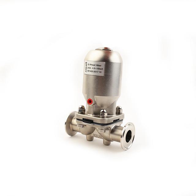 不锈钢气动隔膜阀 1