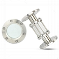 Sanitary Stainless Steel PN16 Flanged Sight Glass