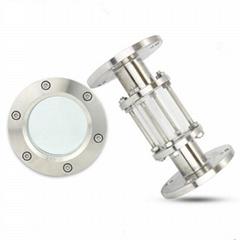 卫生级不锈钢直通法兰视镜