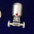 卫生级U型三通隔膜阀
