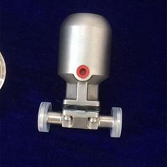 衛生級U型三通隔膜閥
