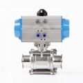 Hygienci Pneumatic Actuated Tri Clamp