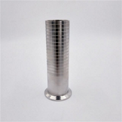 Sanitary Stainless Steel Clamp Long Tail Hose Barb
