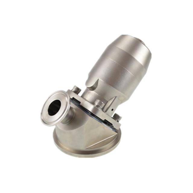 不锈钢316气动罐底隔膜阀 1