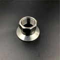 Sanitary Stainless Steel FNPT Threaded Tri Clamp Adapter  2