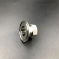 Sanitary Stainless Steel FNPT Threaded Tri Clamp Adapter  3