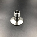 Sanitary Clamp to BSP Male Threaded Adapter Stainless Steel 3