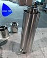 TRI-CLAMP DEWAXING COLUMN STAINLESS STEEL