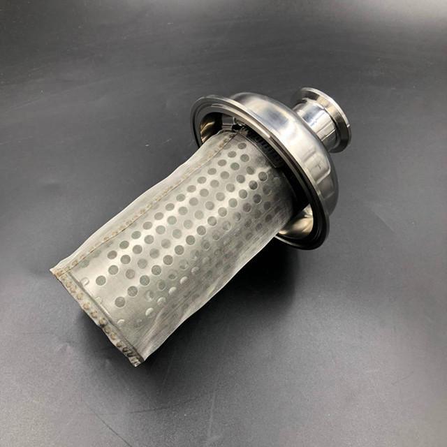 衛生級不鏽鋼雙聯過濾器 4