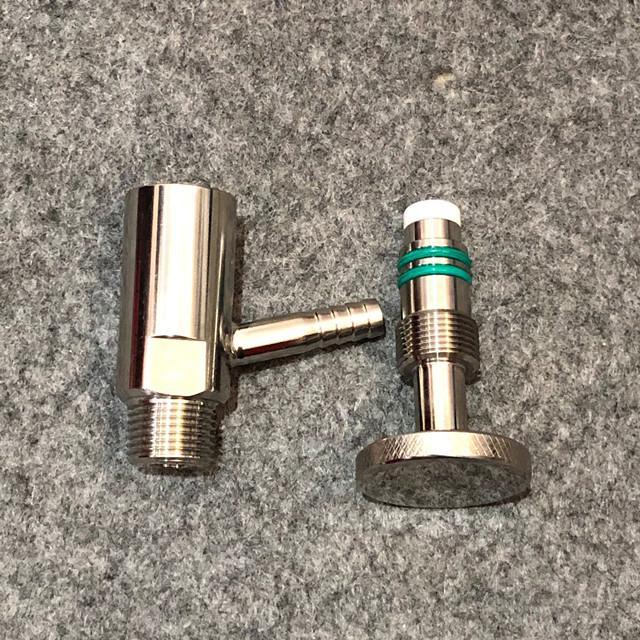 Sanitary SS304 Tri Clamp Sample Va  e PTFE Sealing 4
