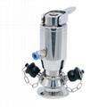 Sanitary Stainless Steel Pneumatic Type