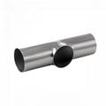 卫生级不锈钢焊接短三通DIN标