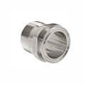 Stainless Steel Sanitary Male NPT to Tri Clamp Adapters (21MP) 1