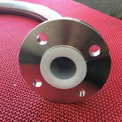 不鏽鋼f法蘭波紋管襯四氟PTFE