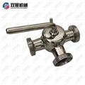 Sanitary Stainless Steel 316 Plug Va  e