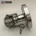 Female Camlock to ANSI125 Flange Stainless 316 Cam and Groove Fitting 3