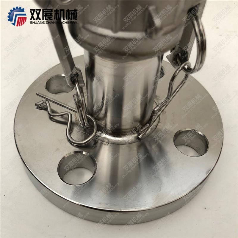 Female Camlock to ANSI125 Flange Stainless 316 Cam and Groove Fitting 4