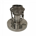 Female Camlock to ANSI125 Flange Stainless 316 Cam and Groove Fitting 1