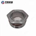 Sanitary Stainless Steel Tri Clamp Weldless Bulkhead