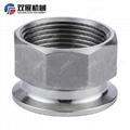 Sanitary Stainless Steel BSP Internal Threaded Tri Clamp Adapter  5