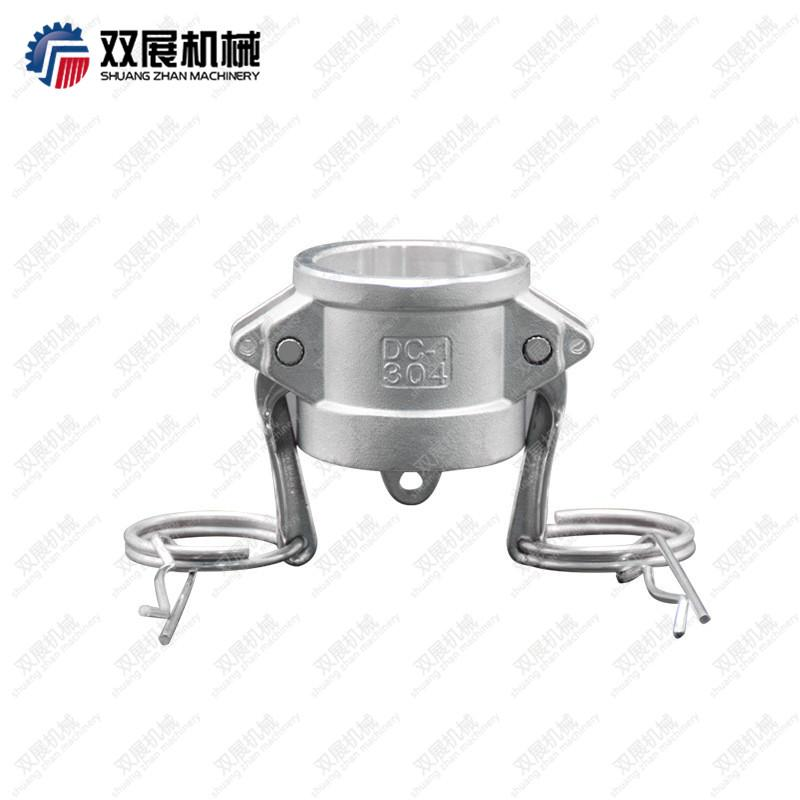 Stainless Steel Cam and Groove Dust Cap Female End Coupler Safety Drills 2