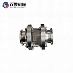 Sanitary Tri Clamp Short Sight Glass High Pressure