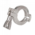 Sanitary Double Pin Heavy Duty Clamp