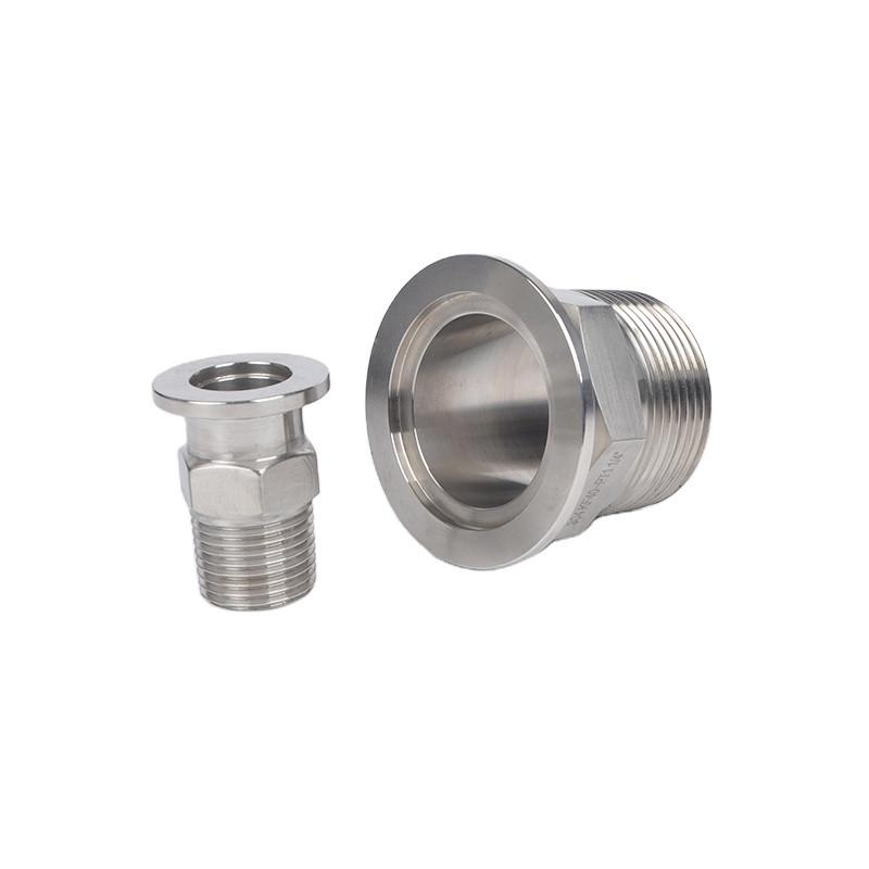 Stainless Steel ISO-KF to NPT/BSPT/G Male Vacuum Adapters 1
