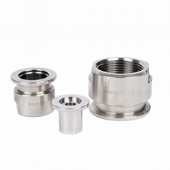 Stainless Steel Vacuum KF to NPT/BSPT Female Adapter