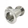 Stainless Steel ISO Vacuum Flange Tees