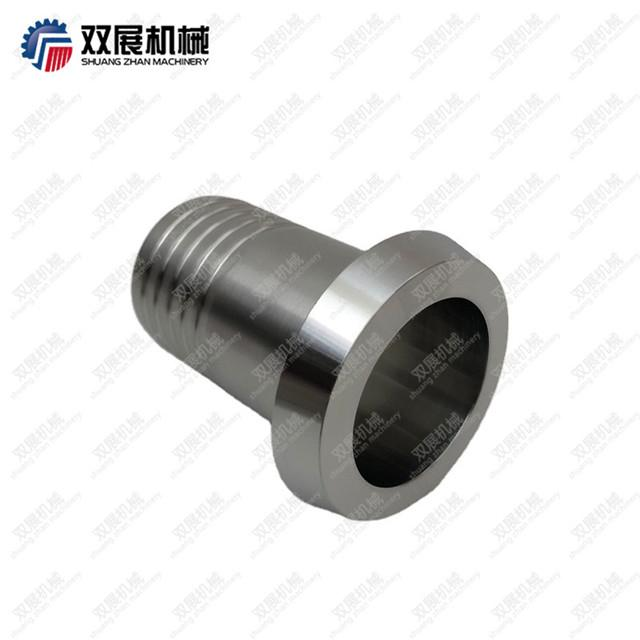 Sanitary Stainless Steel DIN11851 Liner to Rubber Hose Barb 1
